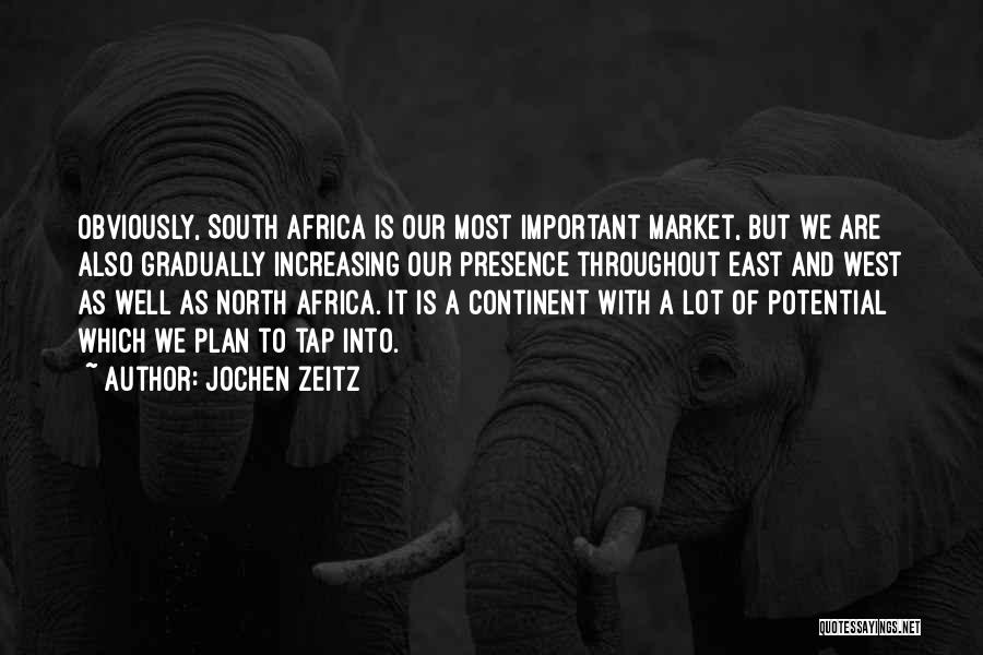 Africa's Potential Quotes By Jochen Zeitz