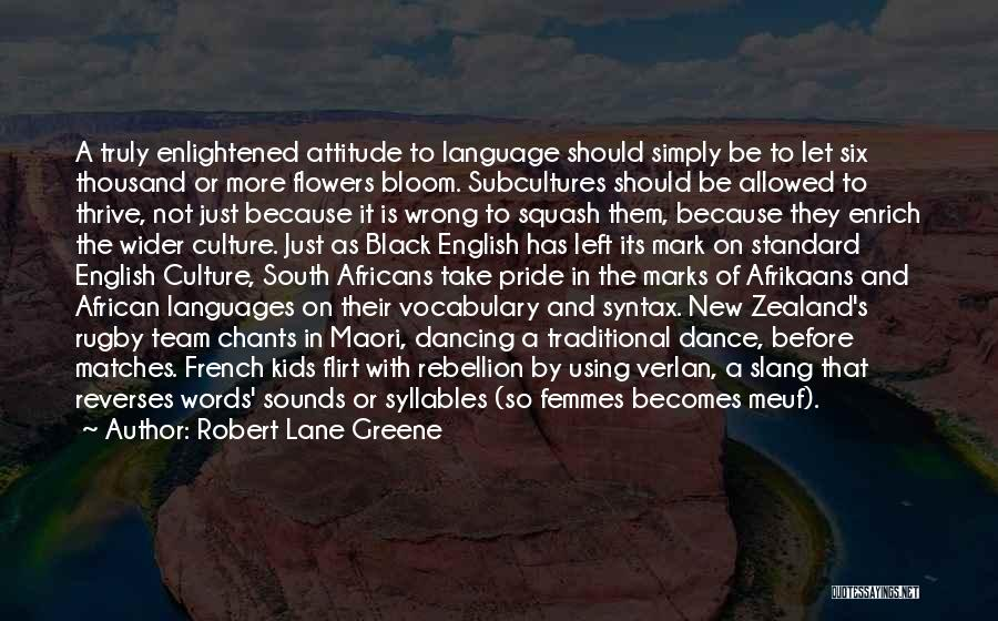 Afrikaans Quotes By Robert Lane Greene