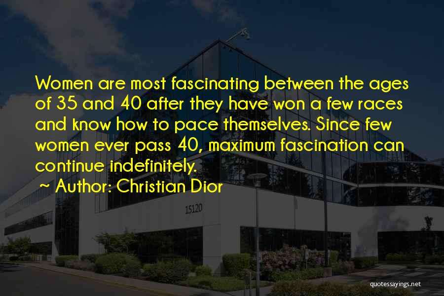 After Ages Quotes By Christian Dior