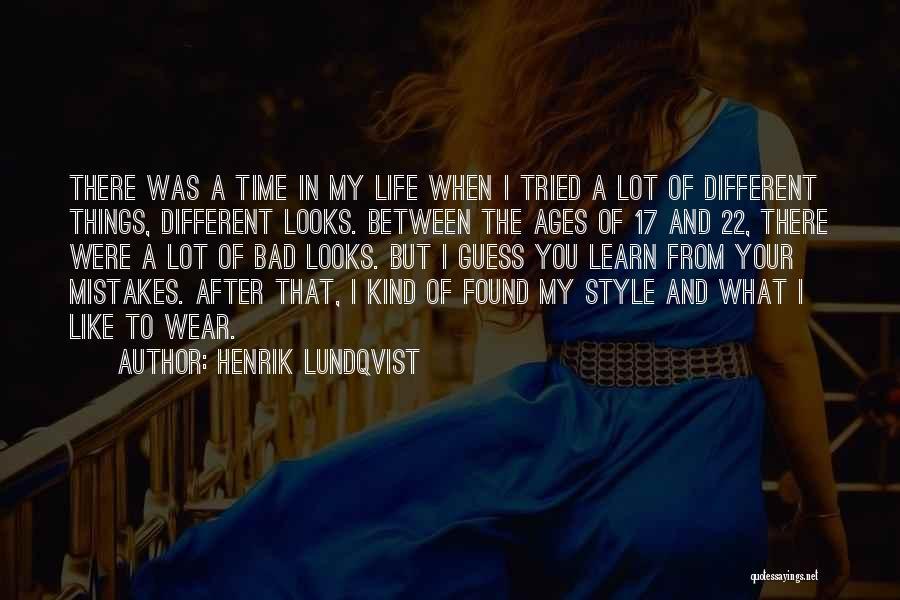 After Ages Quotes By Henrik Lundqvist