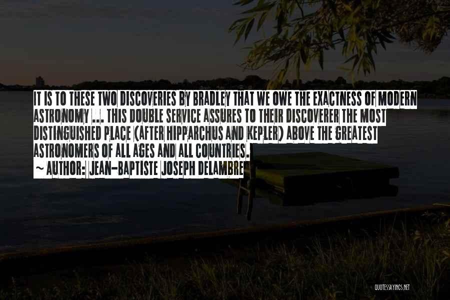 After Ages Quotes By Jean-Baptiste Joseph Delambre