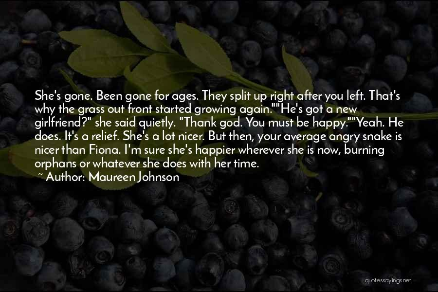 After Ages Quotes By Maureen Johnson