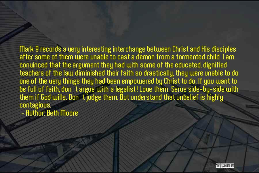 After Argument Love Quotes By Beth Moore