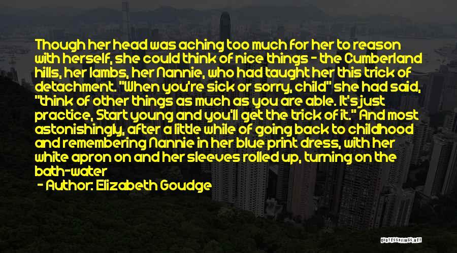 After Bath Quotes By Elizabeth Goudge