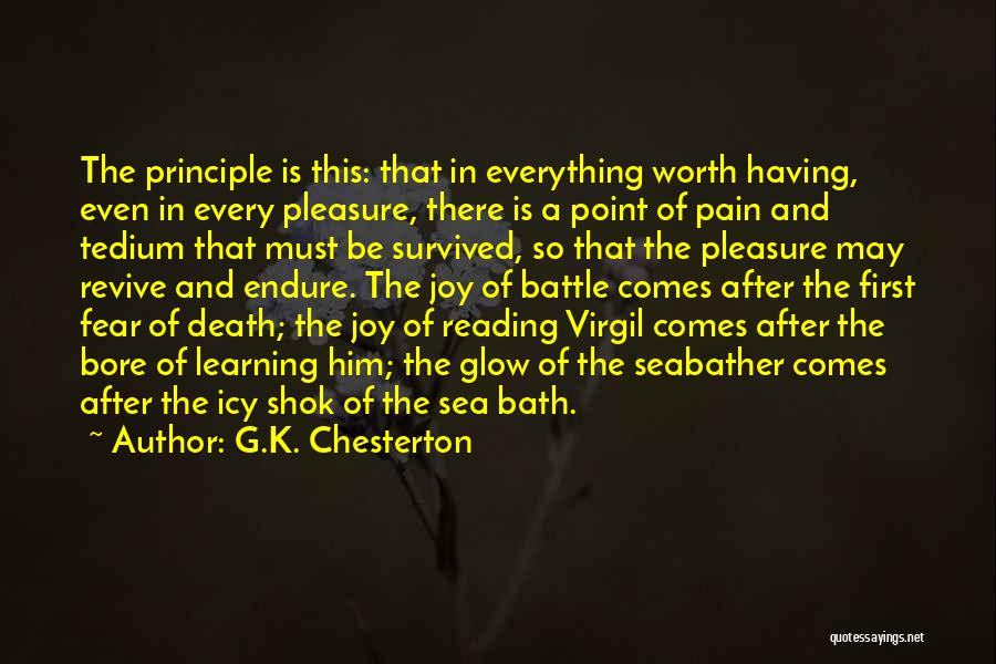 After Bath Quotes By G.K. Chesterton