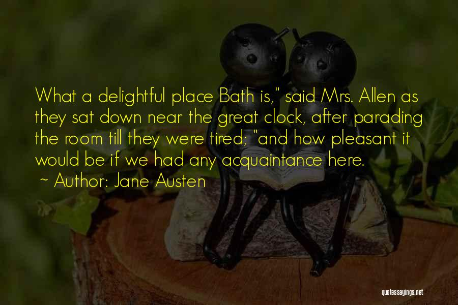After Bath Quotes By Jane Austen