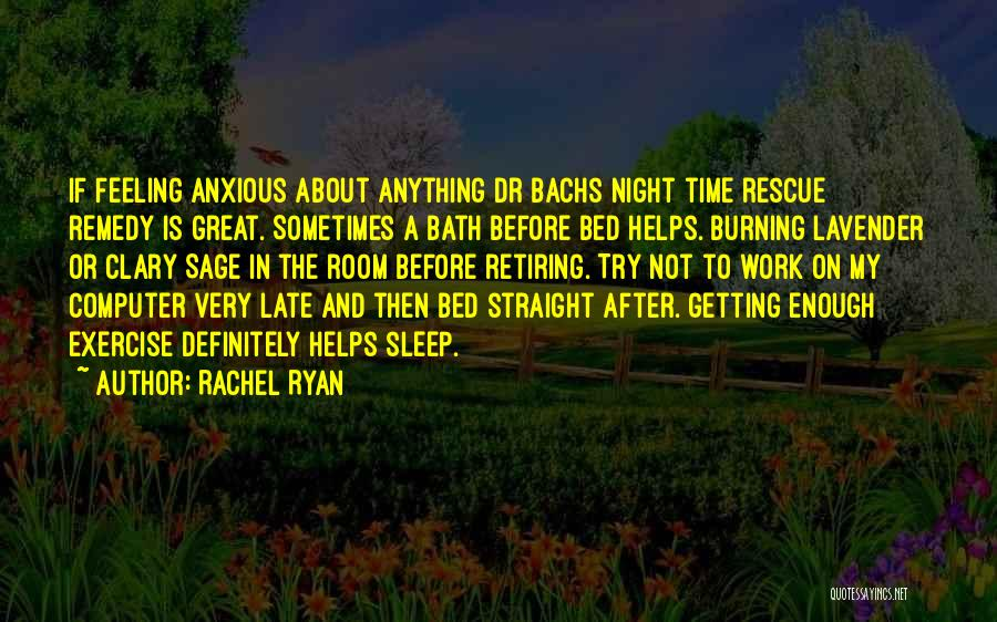 After Bath Quotes By Rachel Ryan