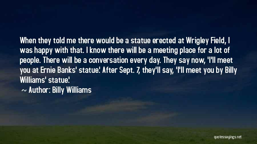 After Meeting You Quotes By Billy Williams