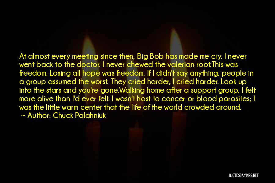 After Meeting You Quotes By Chuck Palahniuk