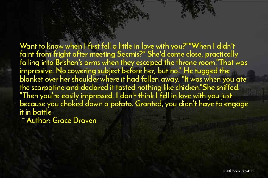 After Meeting You Quotes By Grace Draven