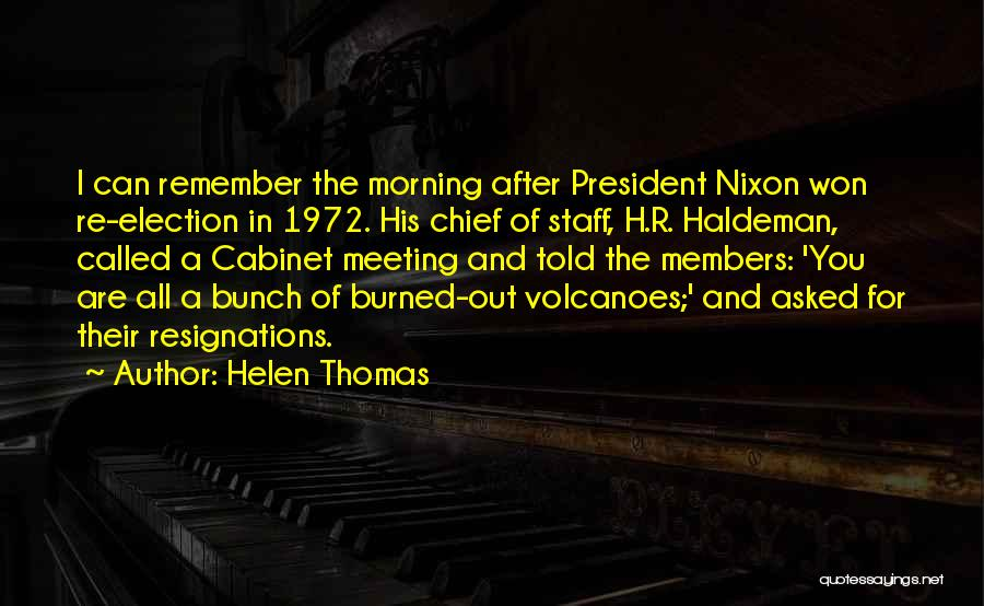 After Meeting You Quotes By Helen Thomas