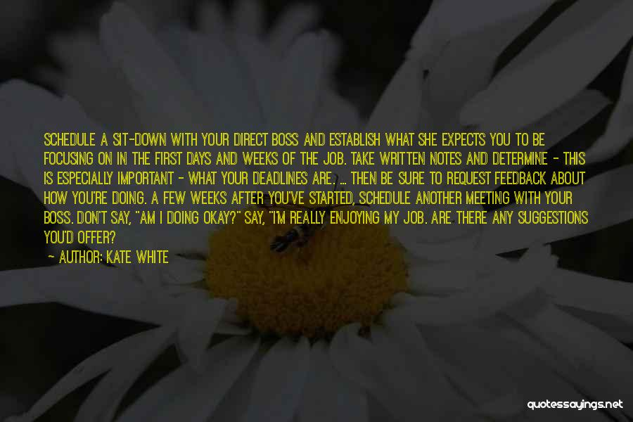 After Meeting You Quotes By Kate White