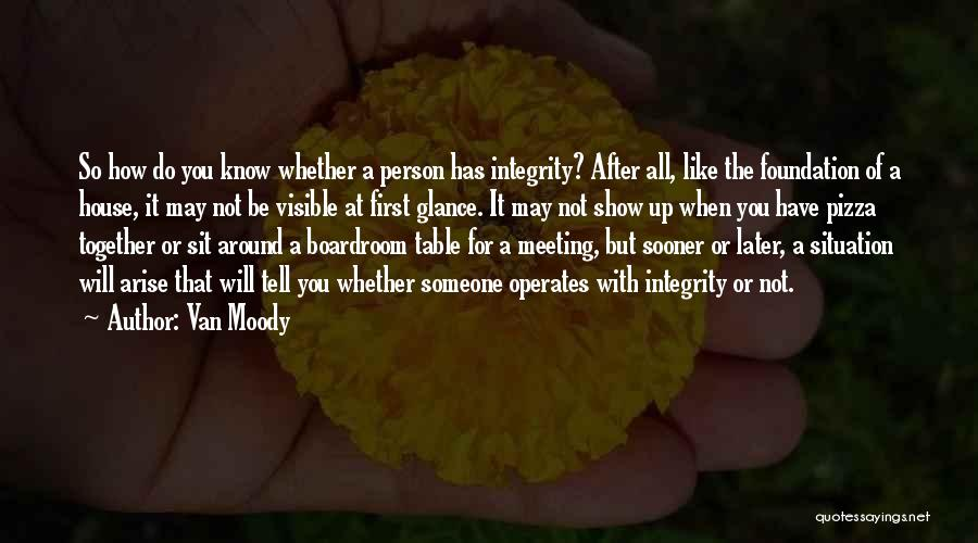 After Meeting You Quotes By Van Moody
