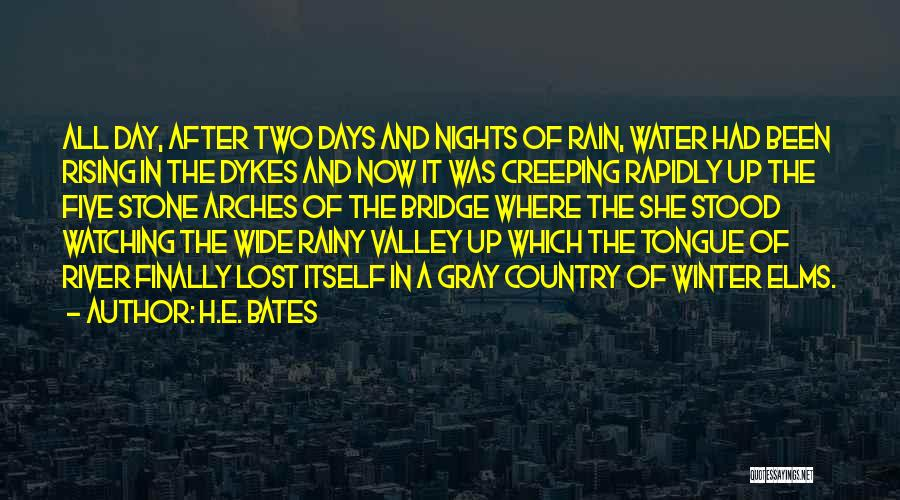 After Rainy Day Quotes By H.E. Bates
