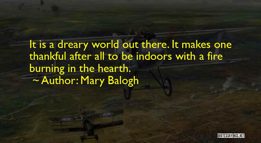 After Rainy Day Quotes By Mary Balogh