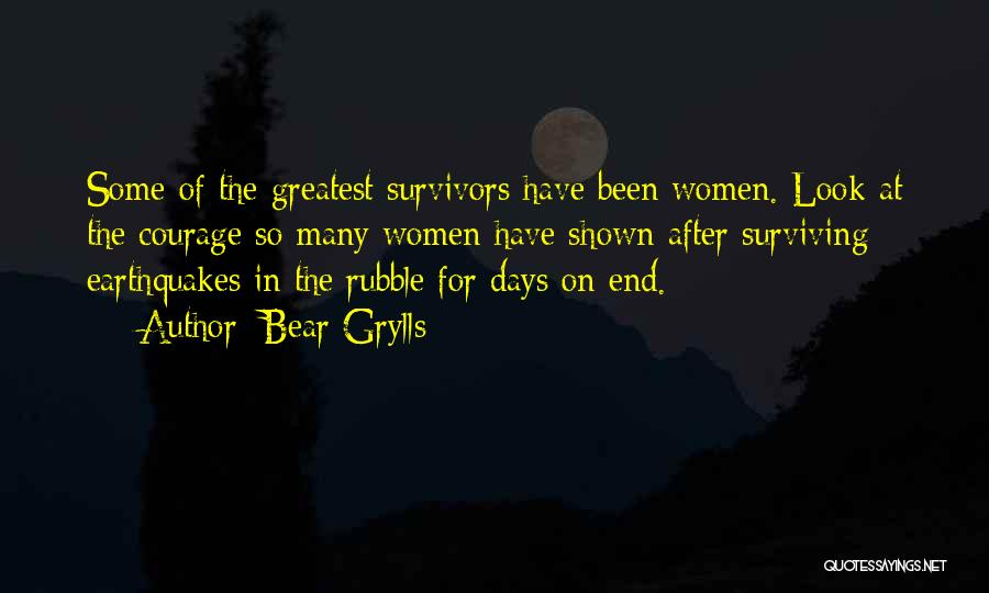 After So Many Days Quotes By Bear Grylls