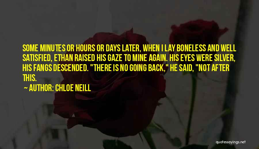 After Some Days Quotes By Chloe Neill