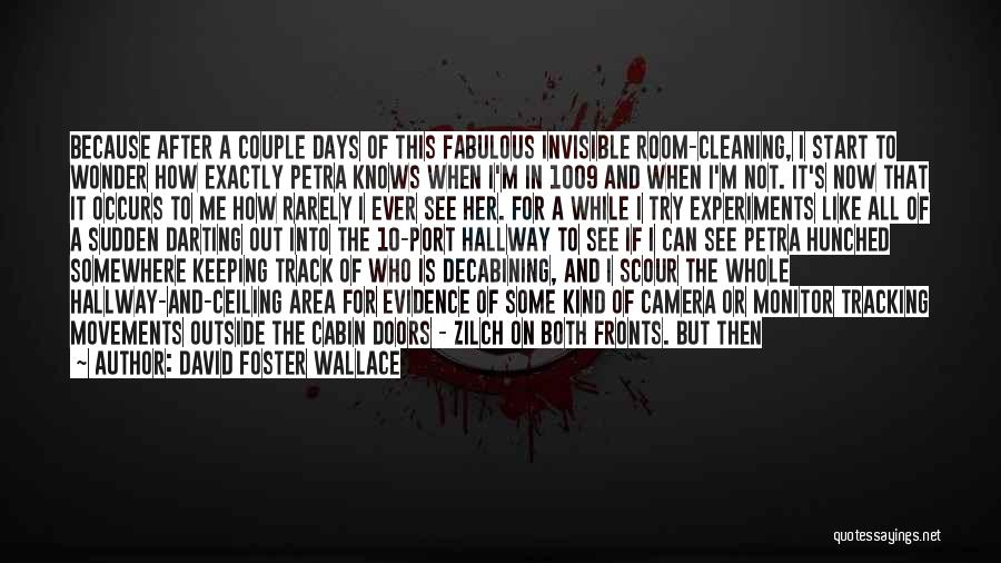 After Some Days Quotes By David Foster Wallace