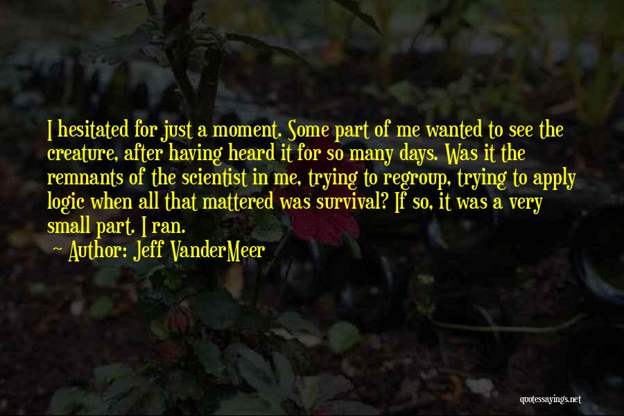 After Some Days Quotes By Jeff VanderMeer