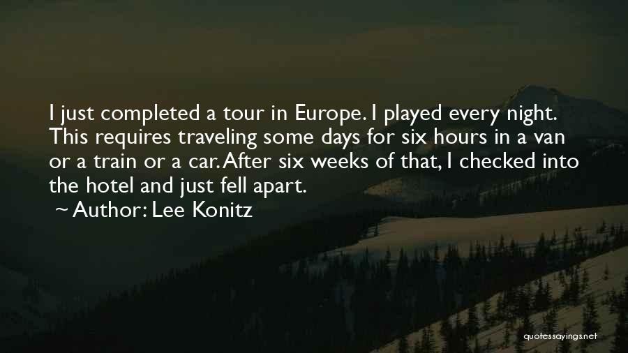 After Some Days Quotes By Lee Konitz