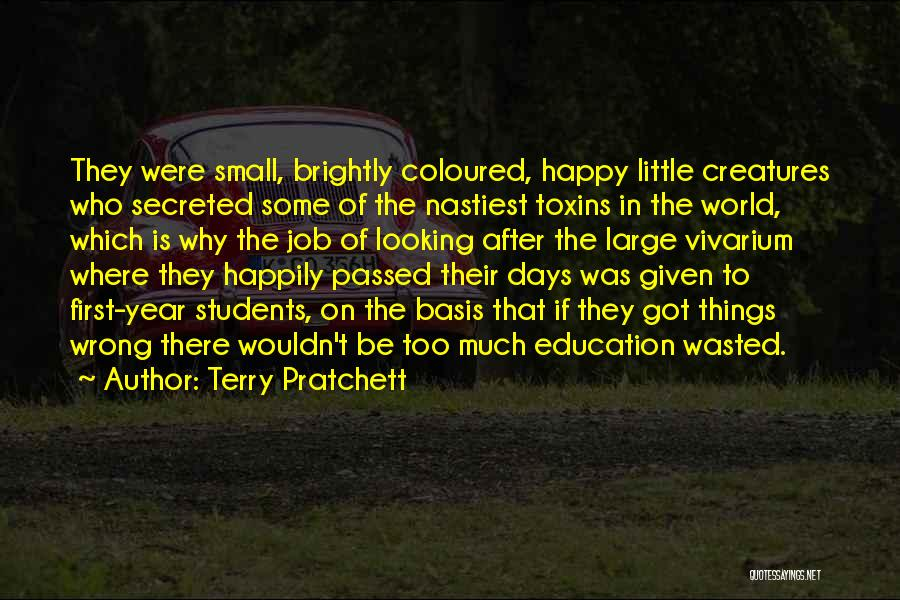 After Some Days Quotes By Terry Pratchett