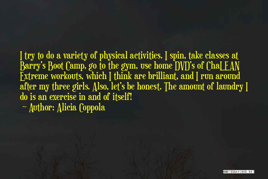 After The Gym Quotes By Alicia Coppola