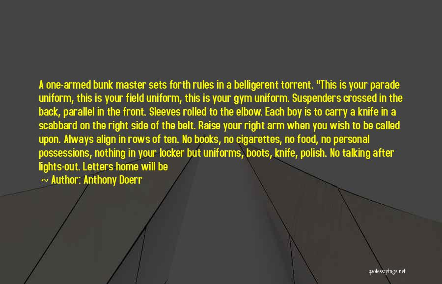 After The Gym Quotes By Anthony Doerr
