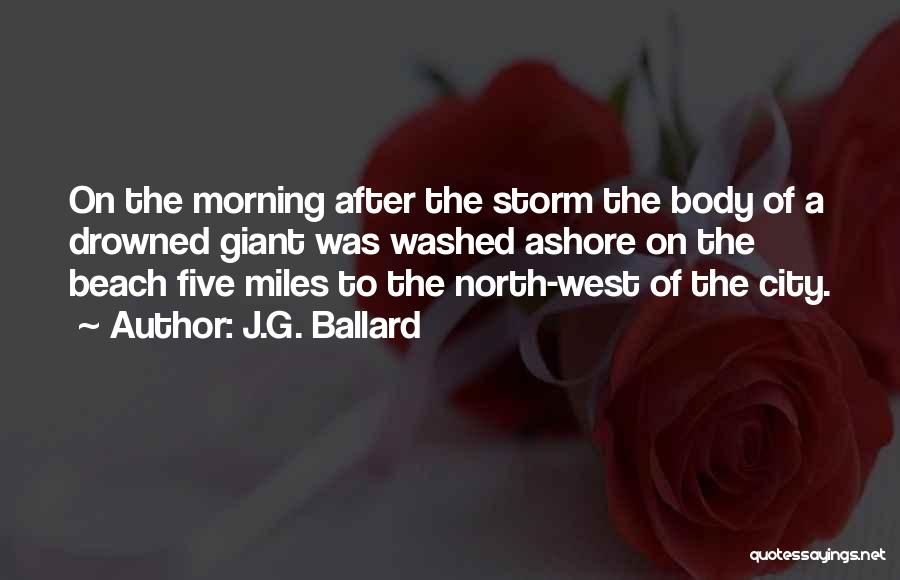 After The Storm Comes Quotes By J.G. Ballard