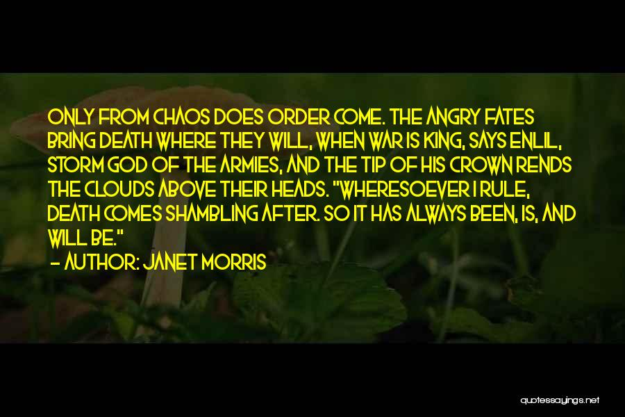 After The Storm Comes Quotes By Janet Morris