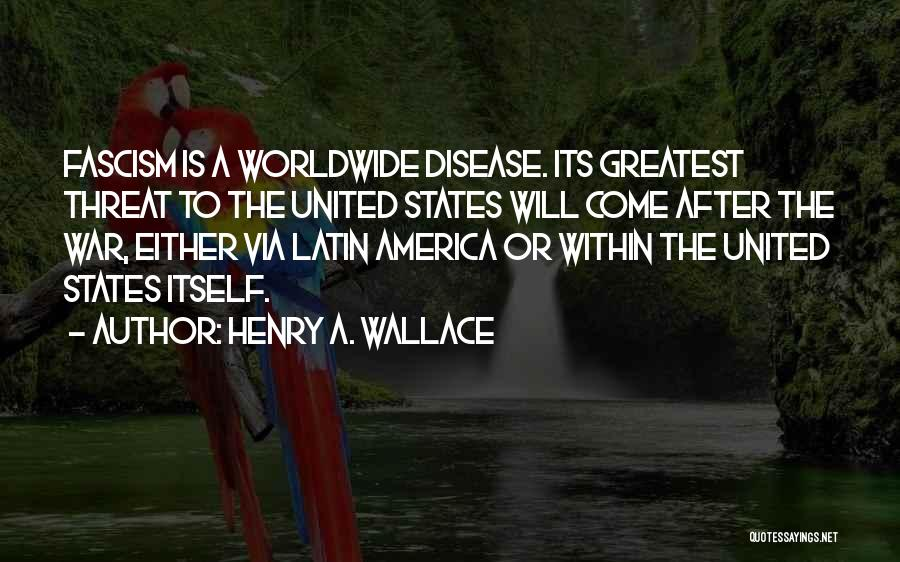 After The War Quotes By Henry A. Wallace