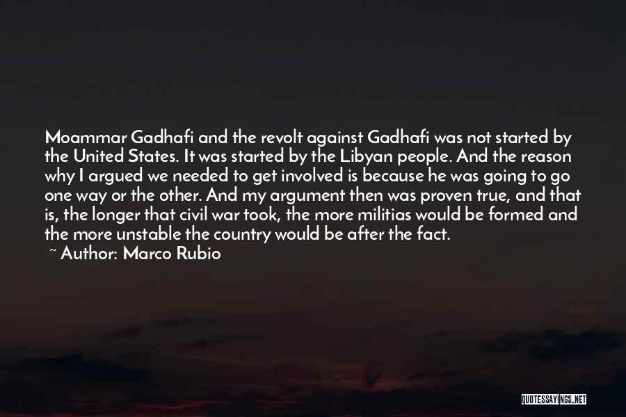 After The War Quotes By Marco Rubio