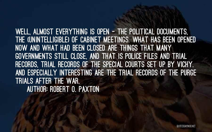 After The War Quotes By Robert O. Paxton