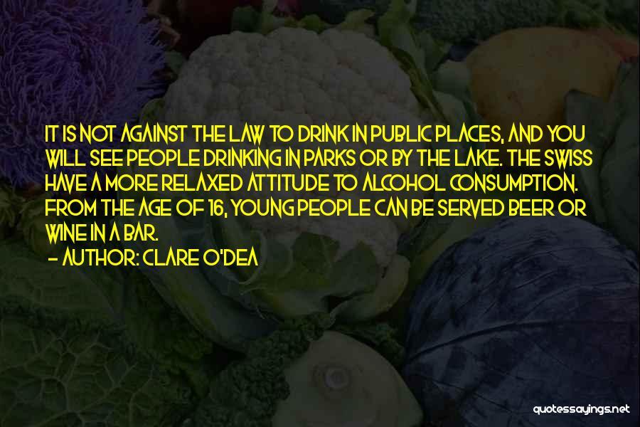 Age 16 Quotes By Clare O'Dea