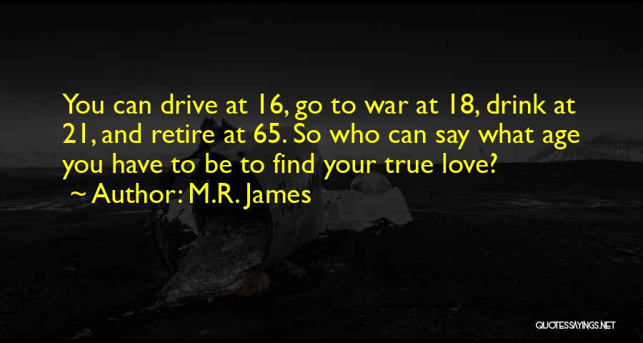 Age 16 Quotes By M.R. James