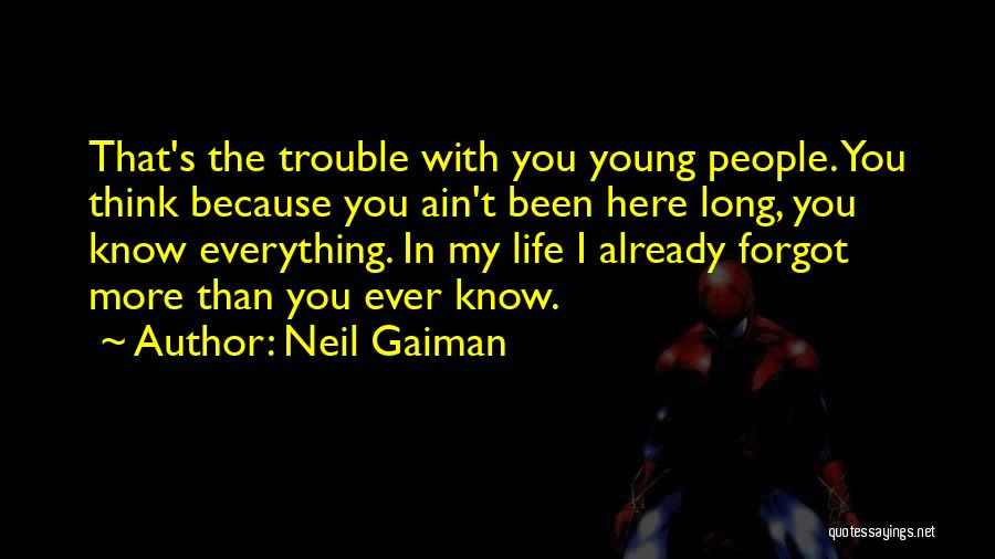 Age Ain't Nothing Quotes By Neil Gaiman