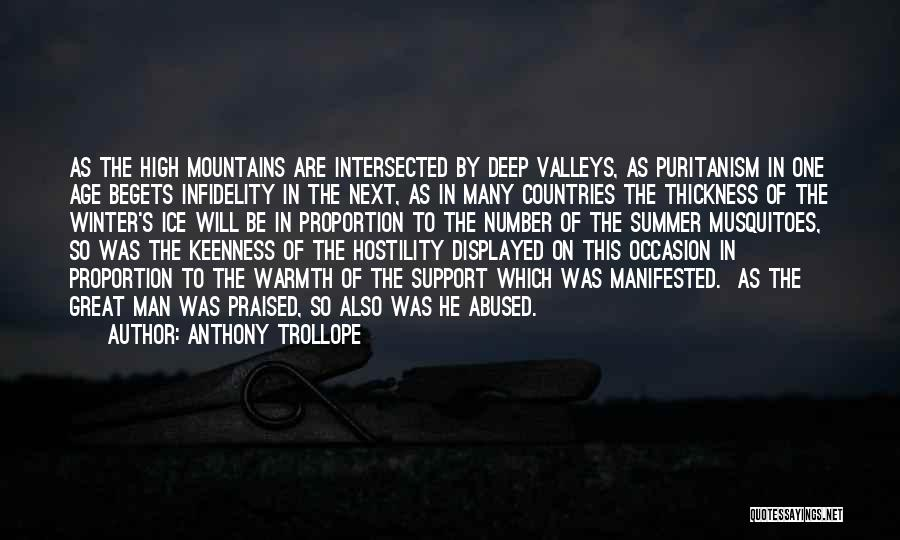 Age Is Not A Number Quotes By Anthony Trollope