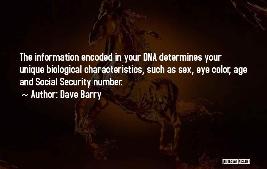 Age Is Not A Number Quotes By Dave Barry