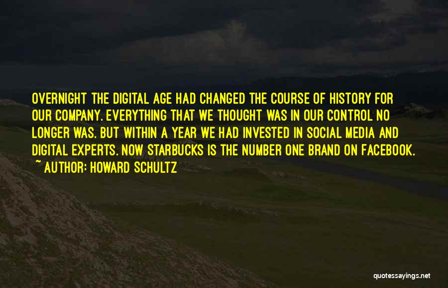 Age Is Not A Number Quotes By Howard Schultz