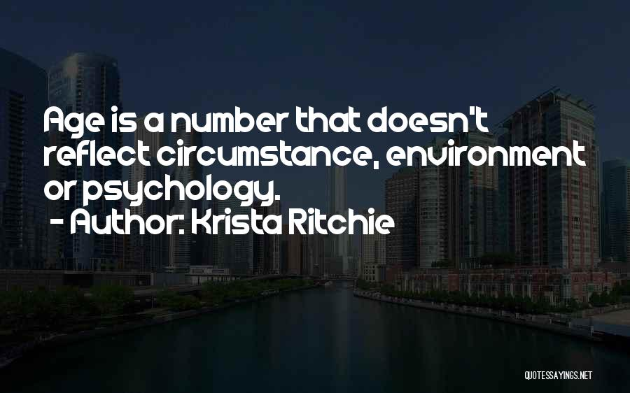 Age Is Not A Number Quotes By Krista Ritchie