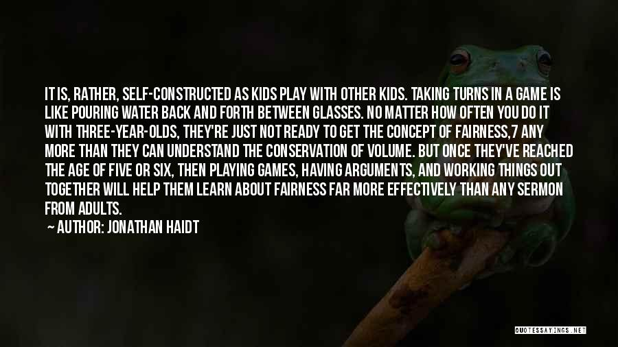 Age Play Quotes By Jonathan Haidt