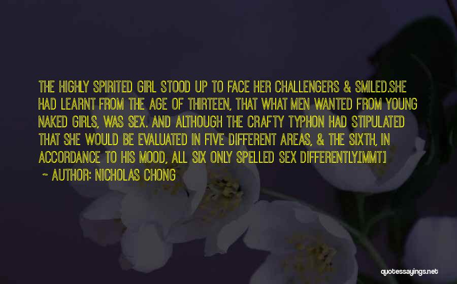 Age Thirteen Quotes By Nicholas Chong