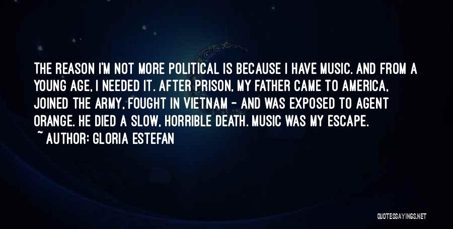 Agent Orange Quotes By Gloria Estefan