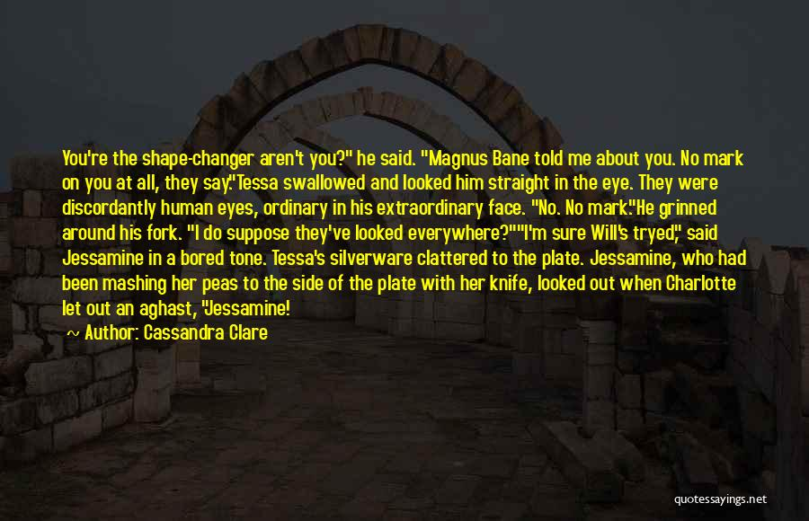 Aghast Quotes By Cassandra Clare