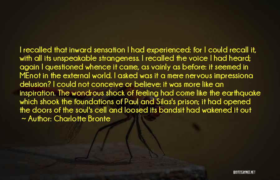 Aghast Quotes By Charlotte Bronte