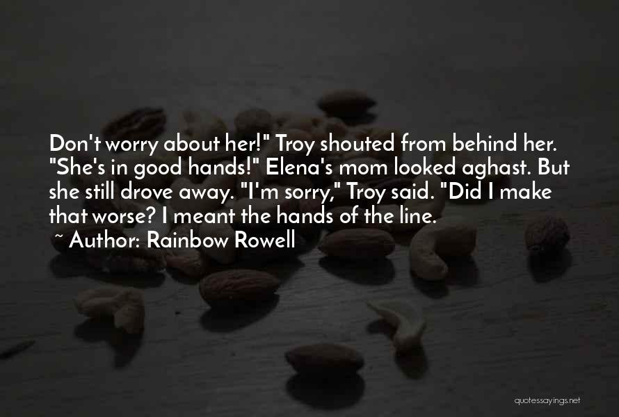 Aghast Quotes By Rainbow Rowell