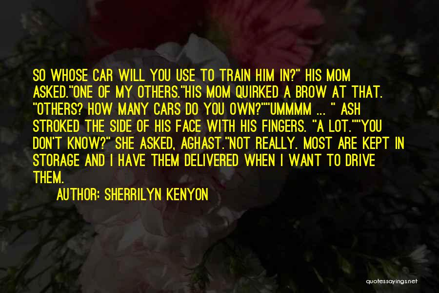Aghast Quotes By Sherrilyn Kenyon