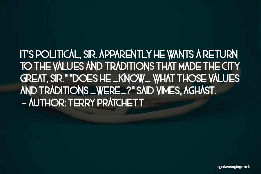 Aghast Quotes By Terry Pratchett
