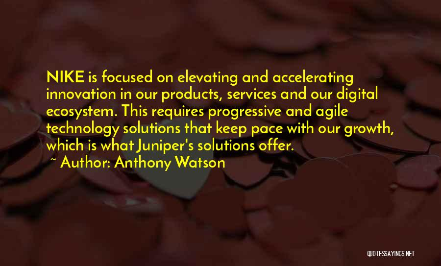 Agile Quotes By Anthony Watson