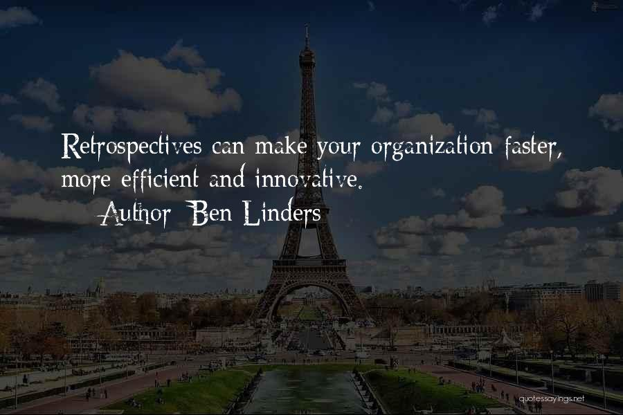 Agile Quotes By Ben Linders