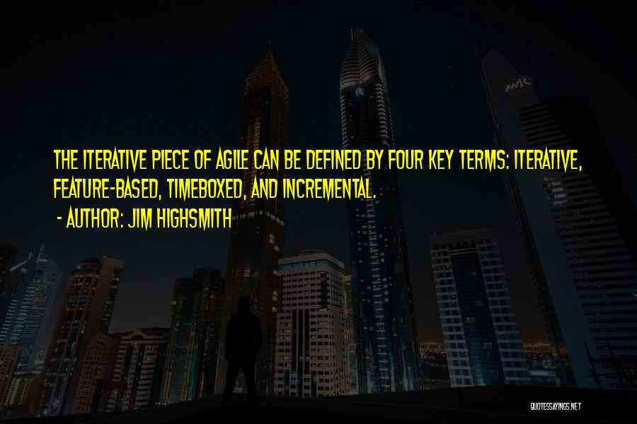 Agile Quotes By Jim Highsmith
